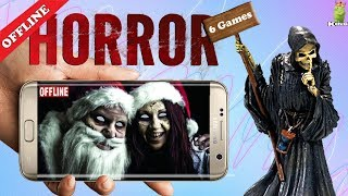 Top 6 offline Horror games on Playstore under 100mb | Scary and Terrifying | HD Gameplay | Hindi