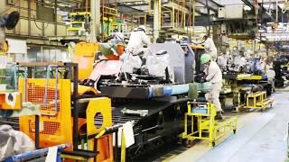Hitachi Construction Machinery factory - Tsuchiura
