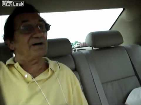 2 girls in car fucking with grandpa