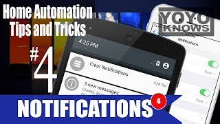 Smart Home Automation Tips & Tricks #4 - openhab Push Notifications