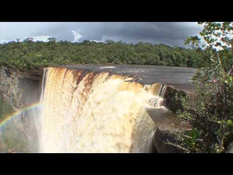 Kaieteur Falls - HD video beauty shots