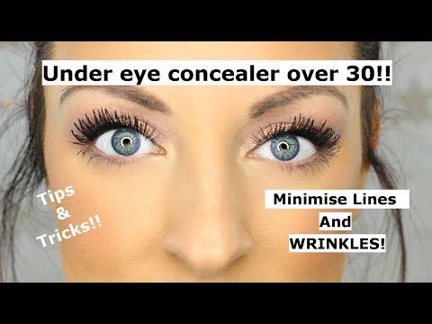 Under eye concealer tips and tricks OVER 30