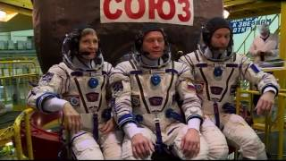 Expedition 50-51 Crew Prepares for Launch in Kazakhstan