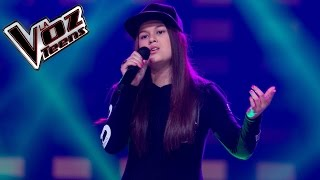 Valentina canta 'Ricos besos' | Audiciones a ciegas | La Voz Teens Colombia 2016