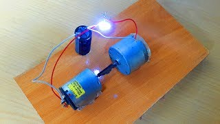 How to make free energy mini generator. It's just a trick.Revealed.