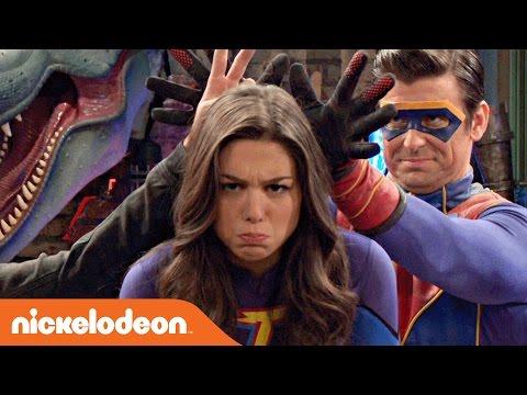 Danger & Thunder Fortune Teller Superhero Challenge 🔮 Nick