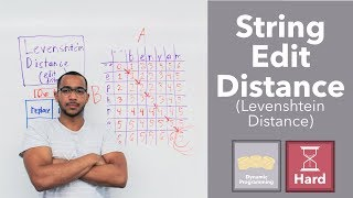 "Edit Distance Between 2 Strings - The Levenshtein Distance (""Edit Distance"" on LeetCode)"
