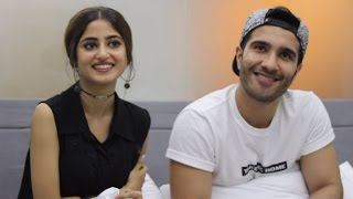 Exclusive interview with Feroze Khan and Sajal aly about upcoming movie Zindagi Kitni Haseen Hay