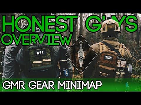 Honest Guys Overview - GMR Gear Minimap