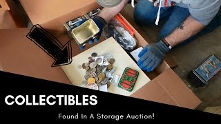 I Found a STASH of COINS In An Abandoned Storage Unit!