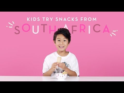 Kids Try Snacks From South Africa Kids Try HiHo Kids