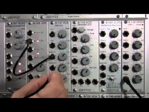 Doepfer A131 VCA Intro