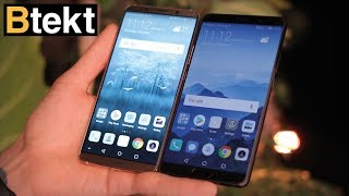 Huawei Mate 10 vs Huawei Mate 10 Pro