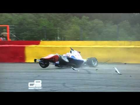 Xxx Mp4 Spa Francorchamps GP3 Flying Crash 2014 3gp Sex