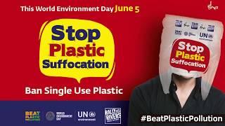 Ban Single-Use Plastic | Sadhguru on World Environment Day 2018