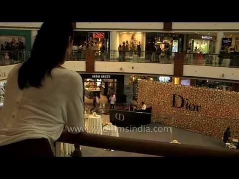 Mariko Tenzin shops at Select Citywalk mall in South Delhi