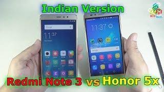 [Hindi-Audio]-Xiaomi Redmi Note 3 vs Huawei Honor 5x: Comparison Video