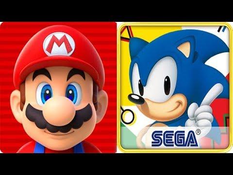 Super Mario Run vs Sonic the Hedgehog