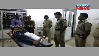 Dreaded Criminal Injured In Police Encounter in Berhampur