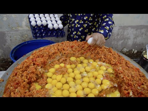 INDIA S BIGGEST Scrambled Egg 240 EGGS Scrambled with Loads of Butter Indian Street Food