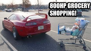 How Car Guys Go Grocery Shopping.
