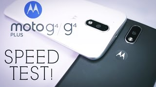 Moto G4 vs Moto G4 Plus: SPEED TEST! - Why Pay More?