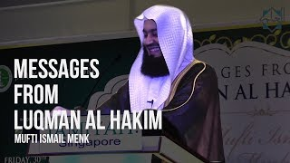 Messages from Luqman Al Hakim | Mufti Menk ᴴᴰ