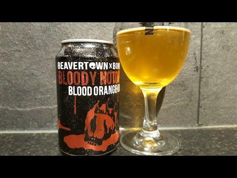 Beavertown Brewery X Boneyard Beer Bloody Notorious Blood Orange DIPA