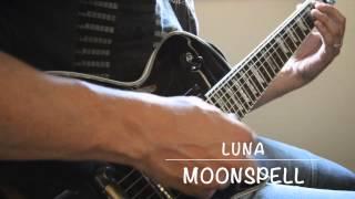 Moonspell - Luna (Guitar Cover)