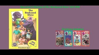 Barney: The Backyard Show 1991 VHS Opening & Closing