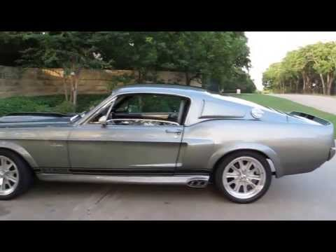 67 Shelby Gt 500 Elanor Tribute Built 428 Cobra Jet Two 4bbl 4 Speed A C Ford 9