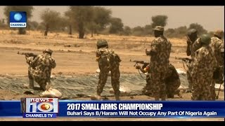 News@10: Army Holds Marksmanship Tournament In Sambisa 28/03/17 Pt.1