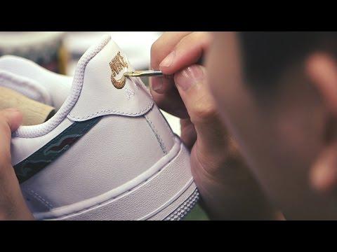 Process: SBTG for HYPEBEAST Nike Air Force 1 & Huarache