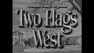 Película Western ENTRE DOS JURAMENTOS (TWO FLAGS WEST) subtitulada