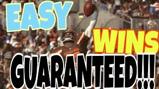 WIN MORE GAMES GUARANTEED! EASY TIPS & TRICKS TO WIN IN MADDEN! MADDEN 19 MUT ULTIMATE TEAM GAMEPLAY