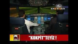THY Kokpit Simülasyon pilot eğitimi, deniz gülen