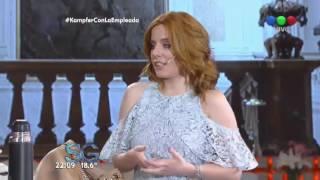 Agustina Kämpfer se le animó a La Empleada Pública - Susana Giménez