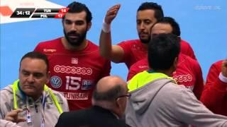 Michał Jurecki vs Sobhi Saied - Polska - Tunezja 2016