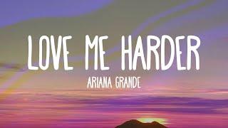 Ariana Grande - Love Me Harder feat The Weeknd (Audio)