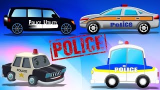 Police Compilation | Cops Cars | Kids Video