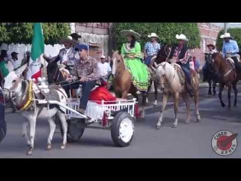 Desfile del 16 de septiembre del 2015 Huisquilco Yahualica Jalisco.