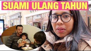 VLOG || SUAMI BULE ULANG TAHUN || UNBOXING EBREK KEDEBREK || TELAT UPLODE
