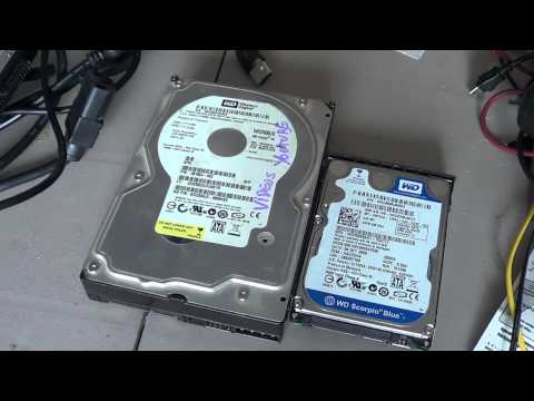 Fixit - How to extract files from old hard drives with usb kit