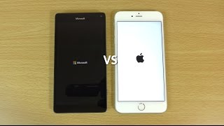 Lumia 950 XL VS iPhone 6S Plus - Speed & Camera Test!