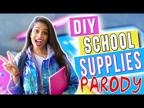 Xxx Mp4 DIY Back To School Supplies PARODY 3gp Sex