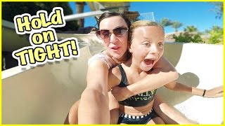 SmellyBelly TV MOTHER'S DAY SPECIAL!! TERRIFYING WATER SLIDE AT THE POOL!