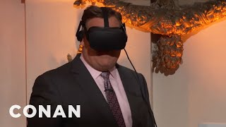 Andy's VR Check-In With The CONAN360° LIVE Pre-Show  - CONAN on TBS