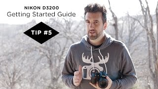 Nikon D3200 Guide - Tip #5 - Using Scene Modes to Quickly Setup Your Camera