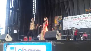 Bangla mela 2014 in paris,France by shajal and Mehzabin