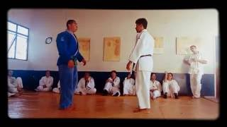 Aula de Judô com Mestre Leandro